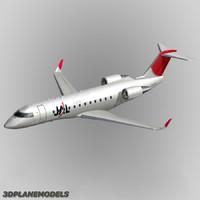 max bombardier crj-200 jal j-air