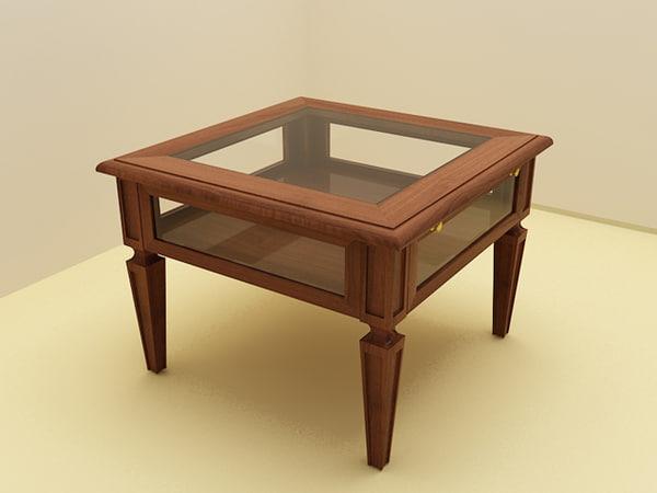 free dellarovere duca table 3d model