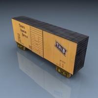 pelican boxcar 004 3d model