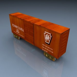 pelican boxcar 009 3d model