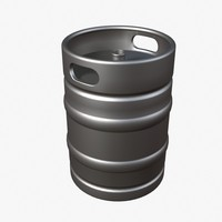 Half Barrel Beer Keg