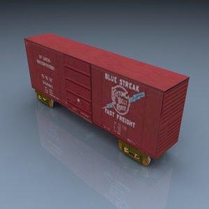 pelican boxcar 018 3d model