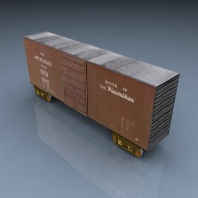 3ds max pelican boxcar 021