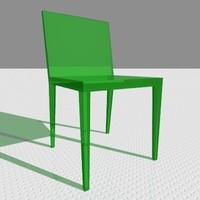 3d hibisco chair