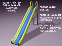 3d slide lightwave model