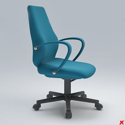 chair office 3ds