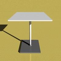 23 table 3d model