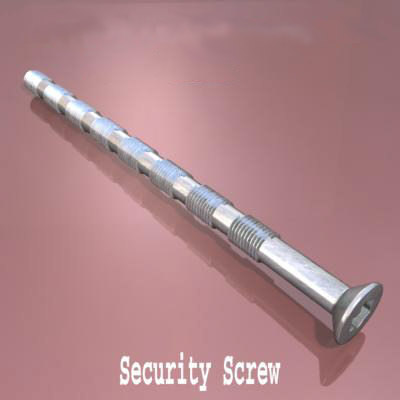 max security screw thread