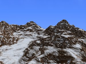 3d model realistic terrain