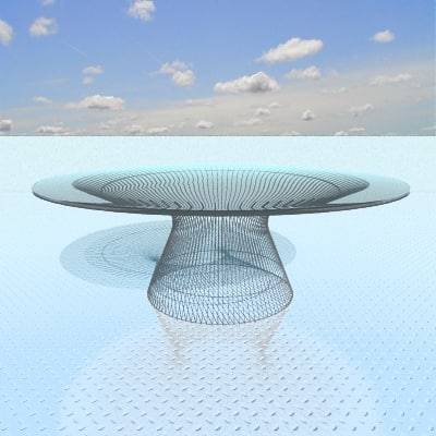 designed platner steel 3d model
