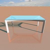 miss table 3d model