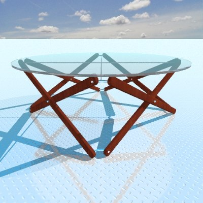 3d camelo table