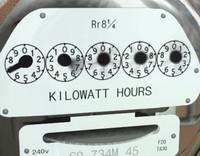 electricity meter 3d model