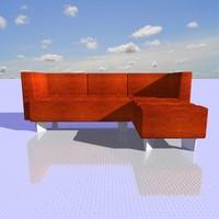 sofa designed interior 3ds