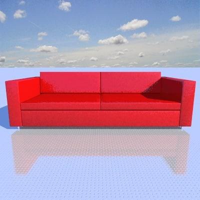 otto sofa 3d model