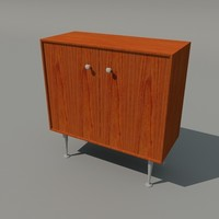 3ds max nelson edge cabinet