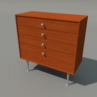 3d model nelson edge cabinet 4
