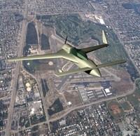 3d model varieze aeroplane