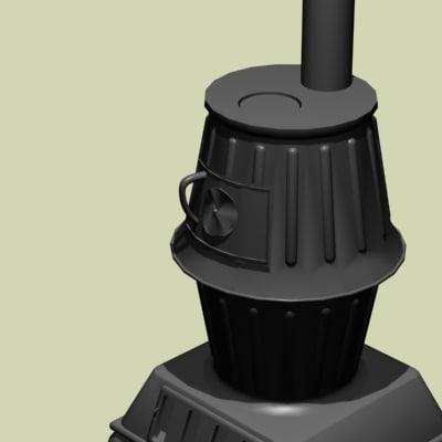 3dsmax pot stove