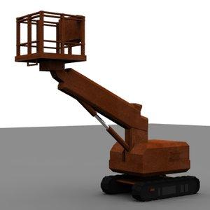 platforms crane industrial 3ds