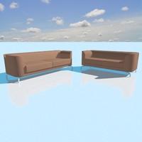 3d model brera sofa