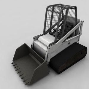 bobcat bulldozer 3ds