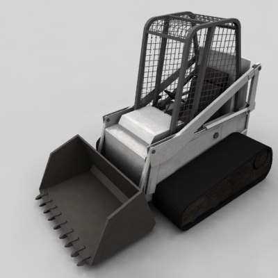 bobcat bulldozer 3ds