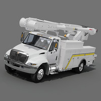 Navistar international Utility  Bucket Truck