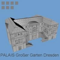 palais grosser garten c4d free