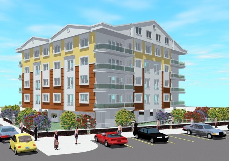 3d house apartment