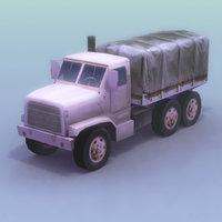 mtvr-7 truck mtvr 3d model