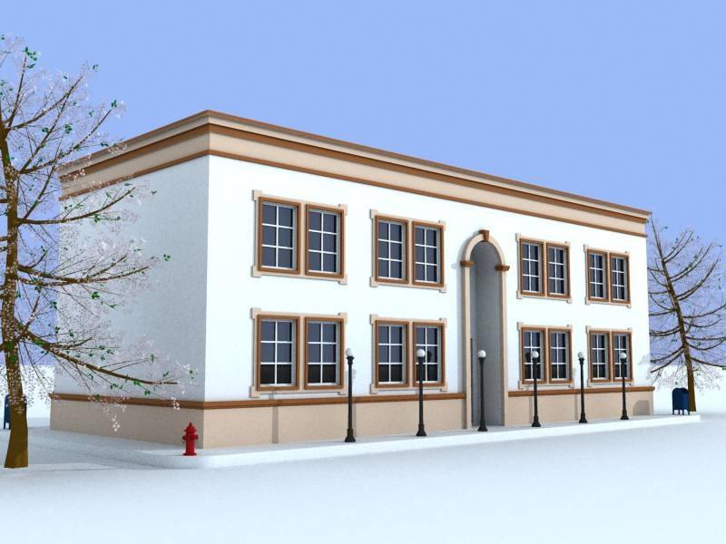 3d model nelrod building