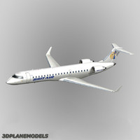 bombardier crj-700 brit air dxf