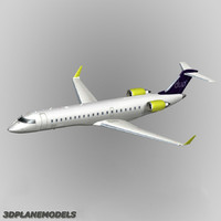 bombardier crj-700 duo airways 3d 3ds
