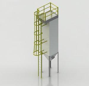3d hopper industrial