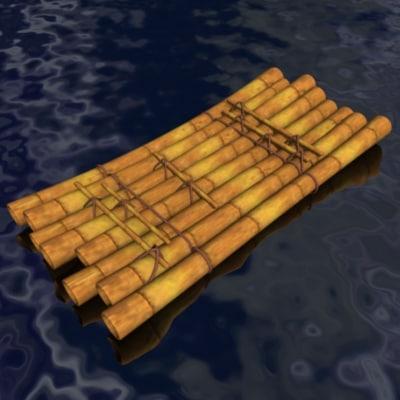 raft 3d model