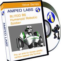 Biltod 86 - Humanoid Robot Soldier