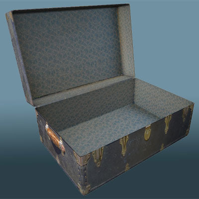 3d chest antique