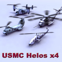 3ds max usmc helicopter games