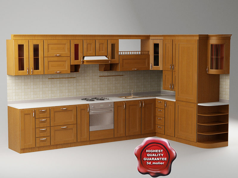 3d kitchen pavel model