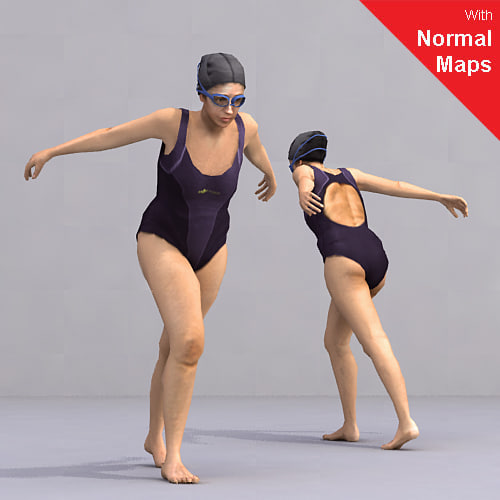 axyz human characters 3d 3ds