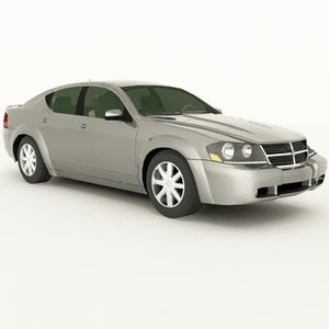 dodge avenger 2008 3ds