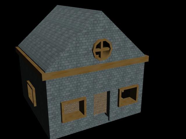 house x 3d
