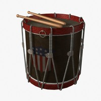 lightwave military drum