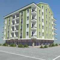 home building apartment 3ds