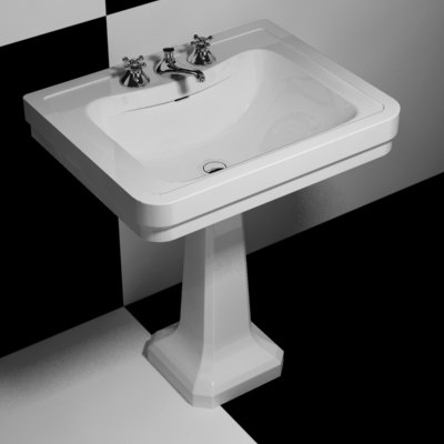 washbowl sink 3d model