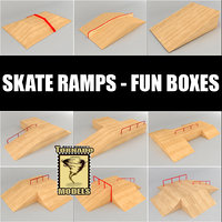 Skate ramps- fun boxes