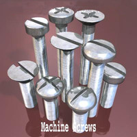 3d model machine screws