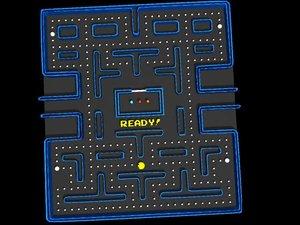 pacman board 3d model