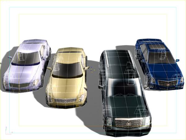 max 4 newest cadillac cars